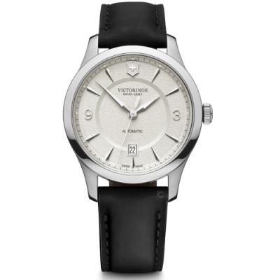 VICTORINOX瑞士維氏Alliance經典機械錶(VISA-241871)-白
