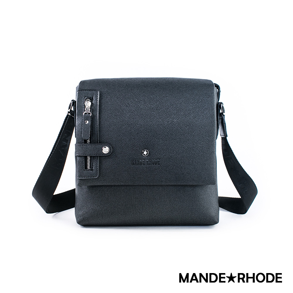 MANDE RHODE - 里米尼LM-A - 直立式掀蓋斜背郵差包 - MR-2279
