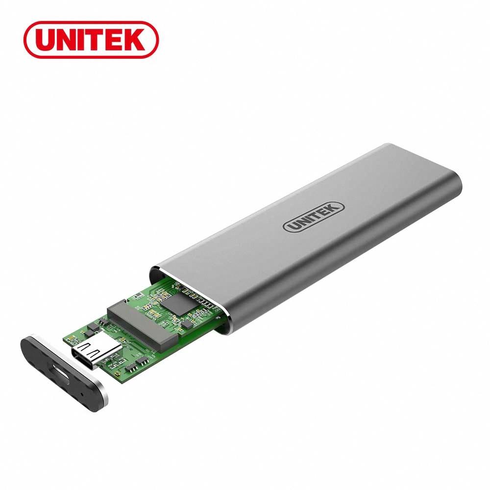 UNITEK USB3.1 Gen2 Type-C to M.2 SSD 鋁合金外接盒