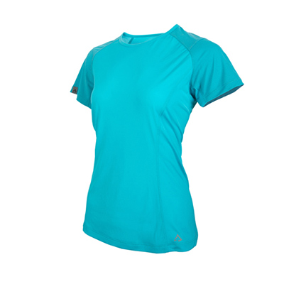 TAKODA女款-輕盈抗菌機能防蚊衣(湖水藍)