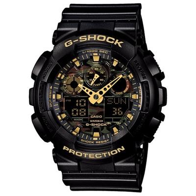 CASIO卡西歐 迷彩錶盤G-SHOCK系列(GA-100CF-1A9)