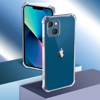 iPhone 13 四角防撞全包覆透明空壓保護殼
