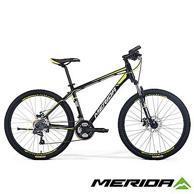 《MERIDA》美利達登山車 勇士 300DS 黑 2017