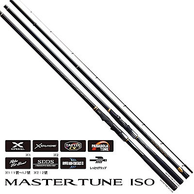 【SHIMANO】MASTER TUNE ISO 1.2號 500 磯竿