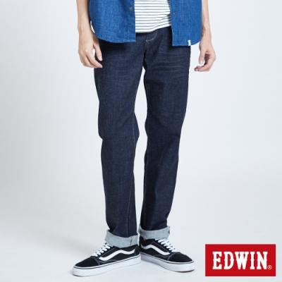 EDWIN 503 基本五袋中直筒牛仔褲-男-原藍色