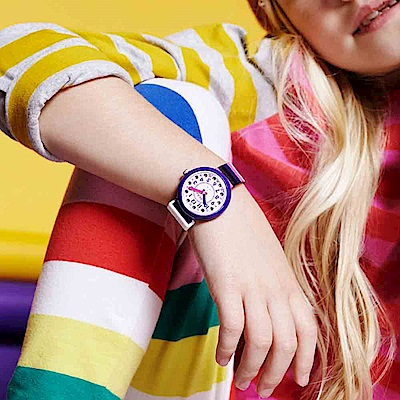 FlikFlak 兒童錶 STRIPE UP YOUR LIFE 條紋趣味