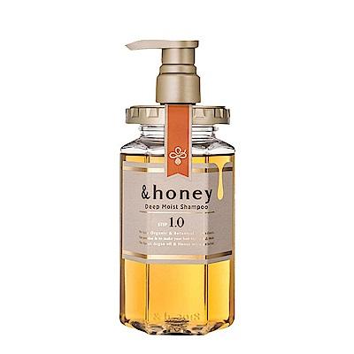 &honey 蜂蜜亮澤修護洗髮乳1.0