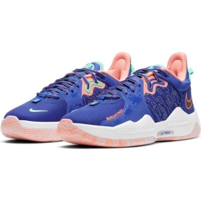 NIKE 籃球鞋  運動鞋 包覆 緩震 男鞋 紫 CW3146400 PG 5 EP