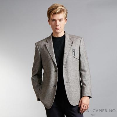 ROBERTA諾貝達 進口素材 台灣製 風格造型 羊毛紳士休閒獵裝 灰綠