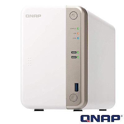 (無卡分期)【促銷組合】QNAP TS-251B-4G+Seagate 2TB*2