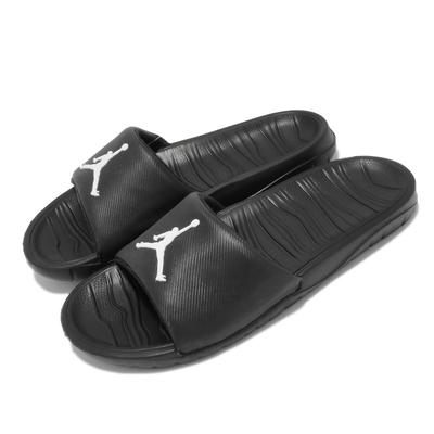 Nike 拖鞋 Jordan Break Slide 男鞋 喬丹 泡綿緩震 套腳 輕便 夏日穿搭 黑 白 AR6374-010