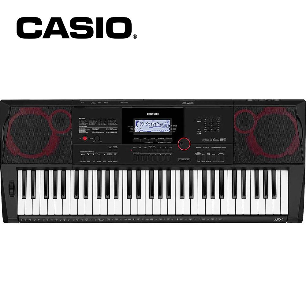 CASIO CT-X3000 61鍵高階伴奏合成器鍵盤