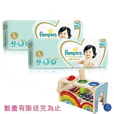(2箱組合)幫寶適 一級幫 紙尿褲/尿布 (L) 42片X4包_日本原裝/箱
