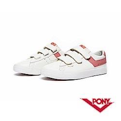 【PONY】Top Star Strap系列-魔鬼氈經典復古鞋-女-粉