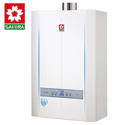 櫻花牌 SH2690 智能恆溫冷凝潛熱回收26L強制排氣熱水器(天然)