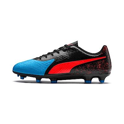 PUMA-ONE 19.4 FG/AG男性足球運動鞋-天藍色