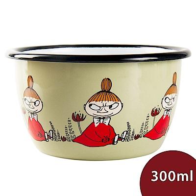 Muurla 嚕嚕米點心碗 小不點 淺綠 300ml 11.3cm