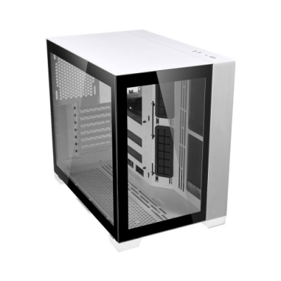 LIAN LI 聯力 O11 Dynamic MINI ATX玻璃透側機殼(白) - O11D Mini-W