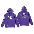 New Era x XLARGE x NBA 連帽T恤 湖人隊 紫