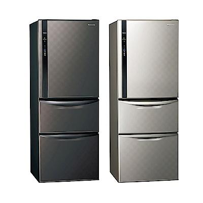 [無卡分期12期]Panasonic國際牌 三門 變頻 電冰箱 NR-C479HV