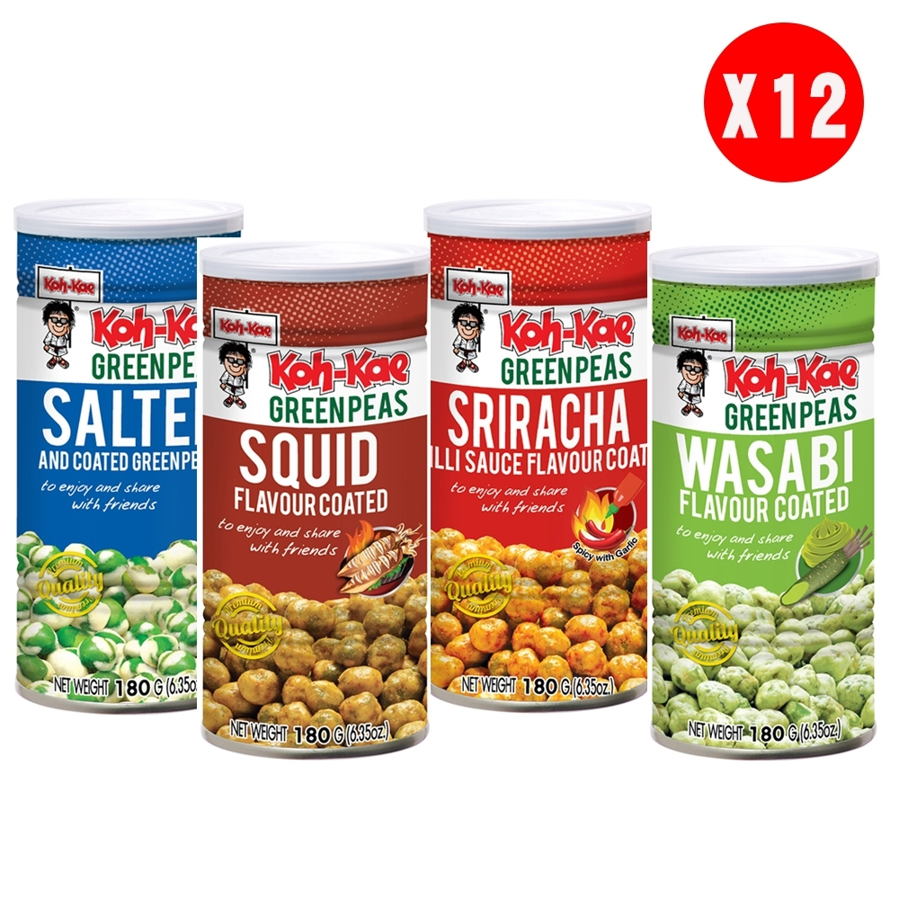 大哥 青豌豆(180gx12罐/箱)