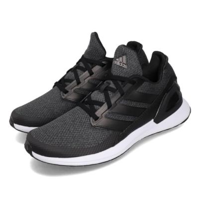 adidas 慢跑鞋 RapidaRun J 運動休閒 女鞋