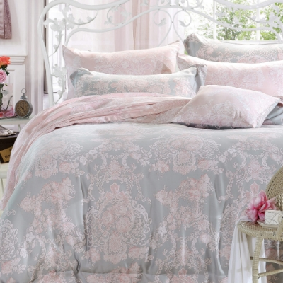 La Lune 裸睡親膚科技天絲雙人加大床包枕套3件組 邱比特