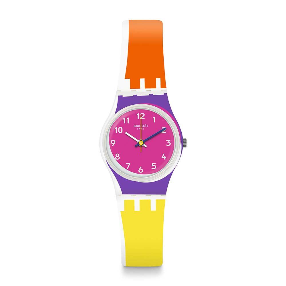 Swatch 原創系列 SUN THROUGH 烈日當空手錶
