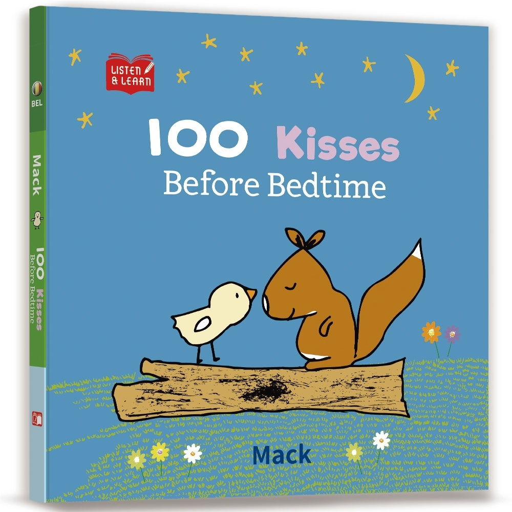 【Listen & Learn Series】100 Kisses Before Bedtime product image 1