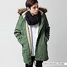 M51軍裝魚尾大衣(3色) ZIP日本男裝