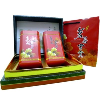 【新造茗茶】阿里山頂級手採珠露金賞禮盒(300gx2罐)