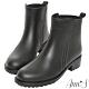 Ann'S降雨量高-經典素面短筒雨靴 product thumbnail 1