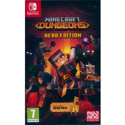 我的世界:地下城 英雄版 Minecraft Dungeons Hero Edition - NS Switch 中英日文歐版