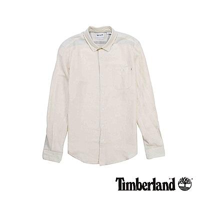 Timberland 男款米白色Mill River長袖襯衫