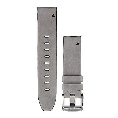 GARMIN QUICKFIT 20mm 絨灰色麂皮錶帶