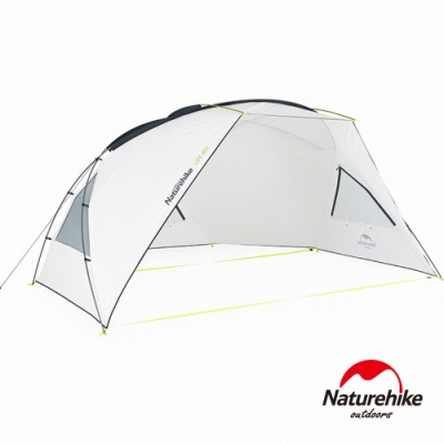 Naturehike 格聶210T63D抗紫外線防水遮陽天幕 沙灘帳 附帳桿-急