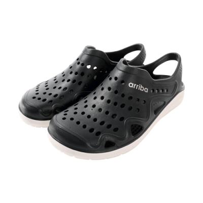 魔法Baby男鞋 台灣製輕量休閒晴雨洞洞鞋sd7221
