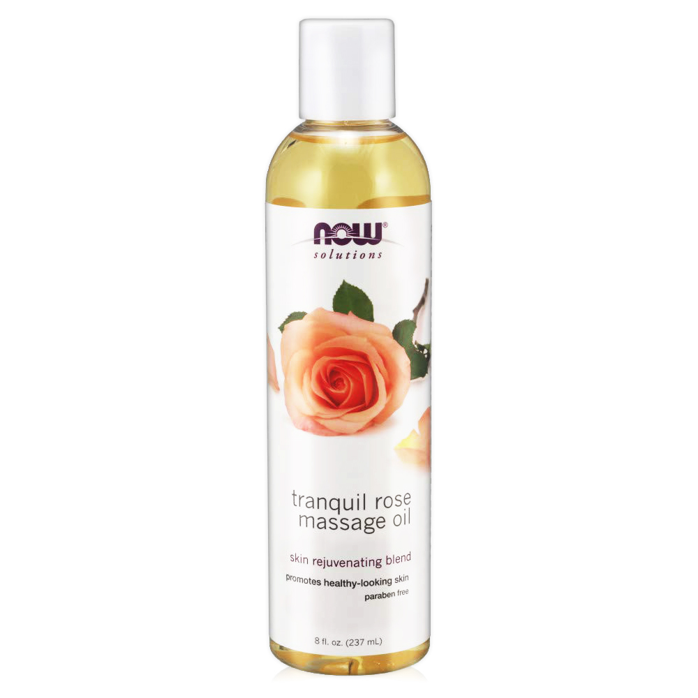 NOW 恬靜玫瑰按摩油(8oz/237ml)Tranquil Rose Massage O