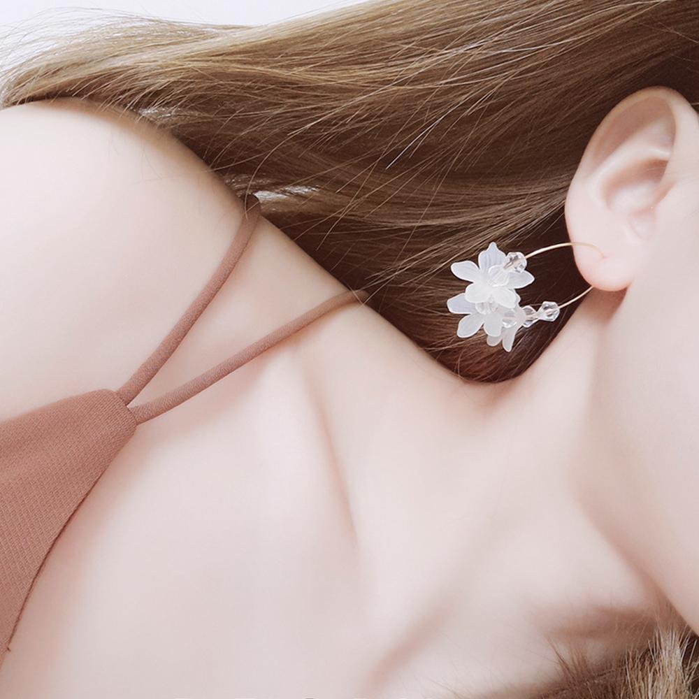 Hera 赫拉 少女心多彩花瓣圈圈耳環-2款 product image 1