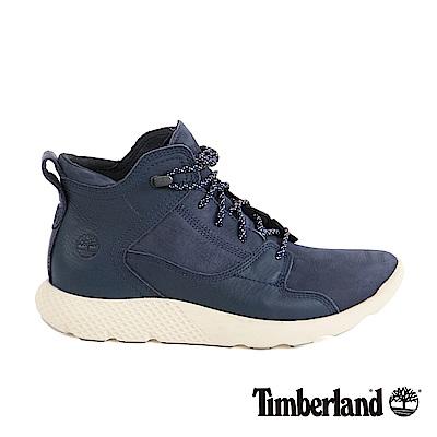 Timberland 男款Fly Roam真皮健行鞋