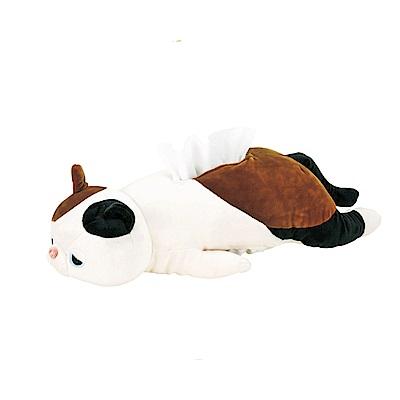 NEMU NEMU 玳瑁貓柚子趴趴面紙套