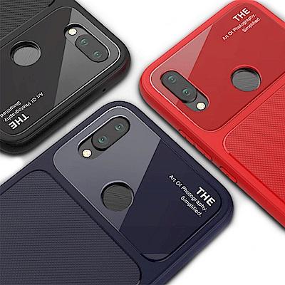 QinD HUAWEI Nova 3e/P20 Lite 爵士玻璃手機殼