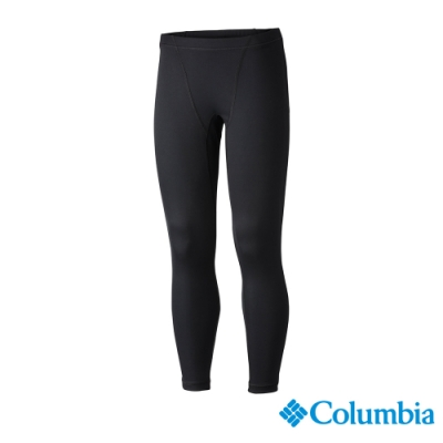 Columbia 哥倫比亞 童款- Omni-HEAT 鋁點保暖快排內著長褲-黑色