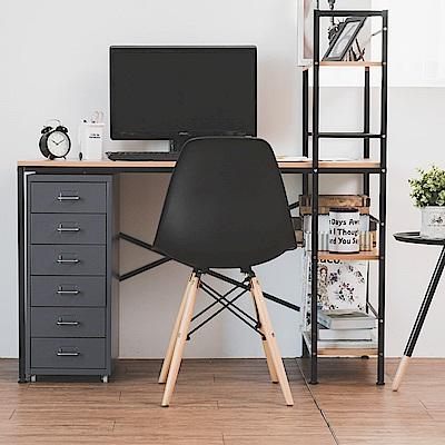 完美主義 工作桌/電腦桌/書桌/層架(2色)-120x48x70