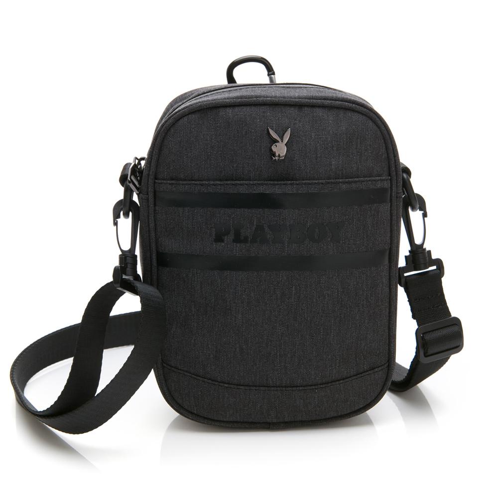 PLAYBOY- 腰掛包可作斜背包  Formula 7.5系列-黑色