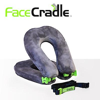 FaceCradle Lite 多功能旅行枕 / 午睡枕 / 護頸枕 - 輕巧進化版(灰)