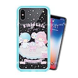三麗鷗授權 iPhone Xs / X 5.8吋 二合一雙料手機殼(雙子棉花糖)
