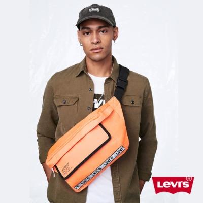 Levis 男女同款 肩背包 復古工業風 Logo 邊條