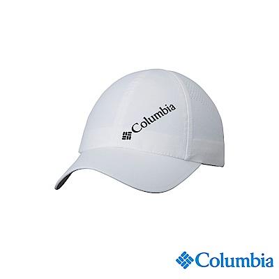 Columbia 哥倫比亞中性-UPF50防潑快排棒球帽-白色UCU01290WT