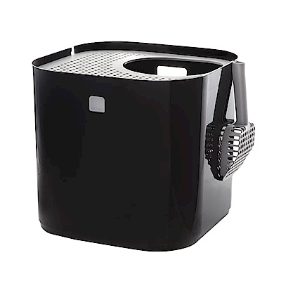 Modko 摩登立方貓廁 - 簡約黑